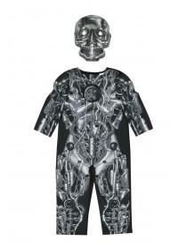 Boys Bionic Skeleton Dress Up Costume