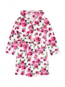 Girls Printed Robe