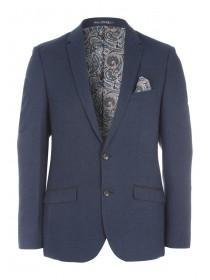 Mens Brisley and Green Textured Wool Jacket