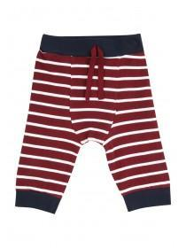 Baby Boys Red Thin Stripe Joggers