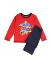 Boys Long Sleeve Jersey Pyjamas