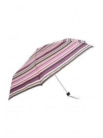 Womens Stripe Supermini Umbrella