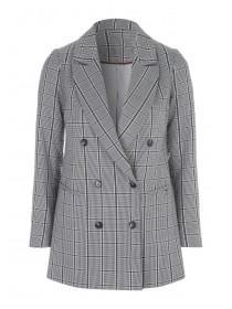 Womens Check Blazer