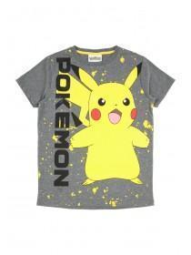 Older Boys Grey Pokemon Tshirt