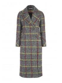 Womens Check Coat