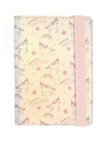 Womens Pink Unicorn Tablet Case
