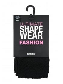 Womens Black Fashion Shapewear Tights