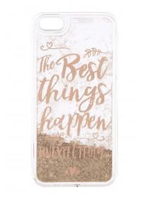 The Best Things Glitter Phone Case