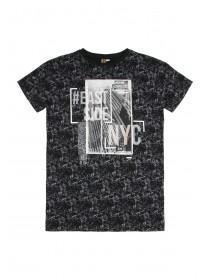 Older Boys Black NYC T-Shirt