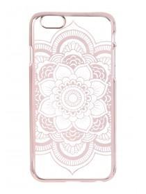 Rose Gold Paisley iPhone Case
