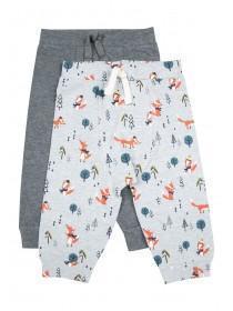 Baby Boys 2pk Fox Joggers