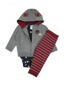 Baby Boys 3pc Fox Set
