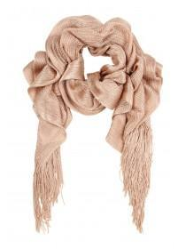 Womens Gold Scarf