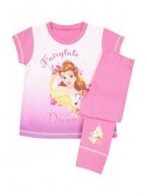 Younger Girls Pink Belle Pyjama Set