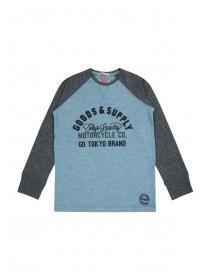 Older Boys Tokyo Laundry Long Sleeve Top