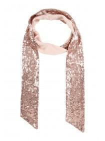 Womens All Over Sequin Scarf