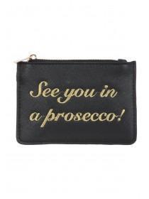 Womens Black Prosecco Purse