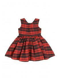 Younger Girls Tartan Prom Dress