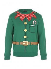 Mens Elf Crew Neck Sweater