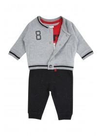 Baby Boy 3 Piece Bomber Jacket Set