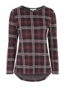 Womens Check Sweater