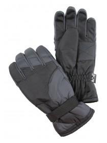 Mens Black Ski Gloves