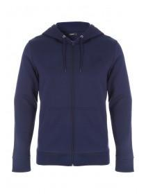 Mens Zip Through Basic Sweater