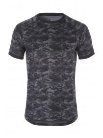 Mens Camo Short Sleeve Sport T-Shirt