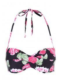 Womens Moulded Floral Bikini Top