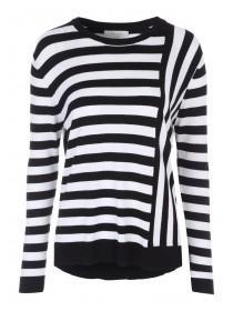 Womens Cut About Stripe Jumper