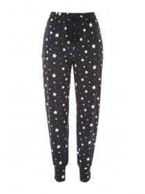 Womens Star Print Soft Touch Pyjama Pants
