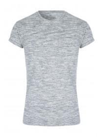 Mens Grey Slim Fit T-Shirt
