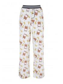 Womens Novelty Monkey Pyjama Pants