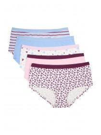 Girls 5PK Pink Shorts