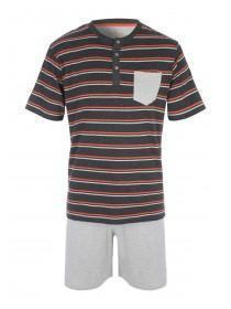 Mens Orange Loungewear Set