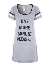 Womens Grey Night T-Shirt