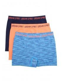 Younger Boys 3PK Blue Boxers