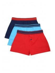 Younger Boys 3PK Red Loosefit Boxers