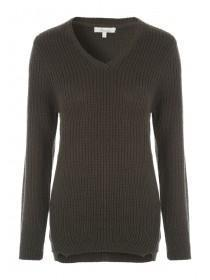 Womens V-Neck Jumper