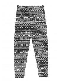 Older Girls Printed Aztec Leggings