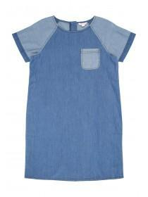 Older Girls Blue Denim Dress