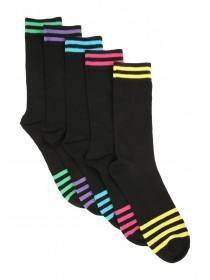 Mens 5PK Sports Design Socks