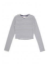 Older Girls Ribbed Long Sleeve T-Shirt