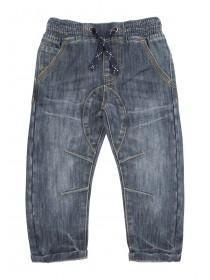 Younger Boys Blue Pull On Jeans