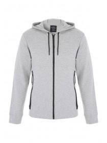 Mens Grey Sports Hoody