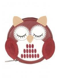 Womens Owl Circle Purse