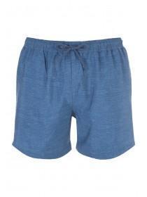 Mens Dark Blue Swim Shorts