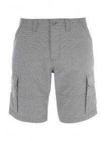 Mens Charcoal Cargo Shorts