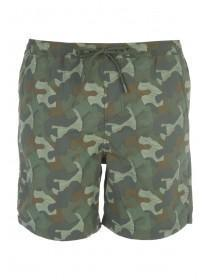 Mens Camo Swim Shorts