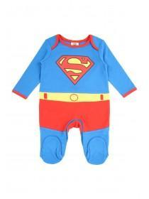 Baby Boy Superman Sleepsuit
